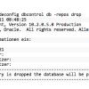 Database Control nach DB Spiegelung